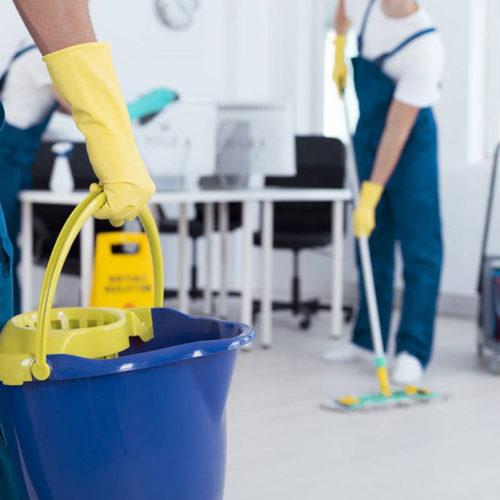 Trabajo de limpieza